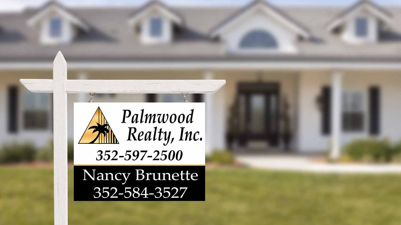 Palmwood Realty for sale sign